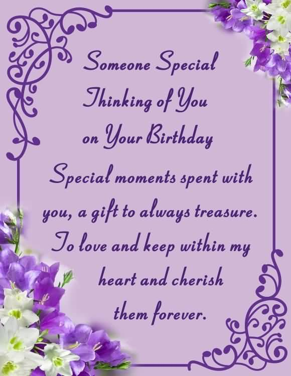 Birthday Wishes E-Card For Someone Special