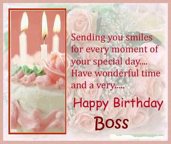 Birthday Wishes Text For Boss