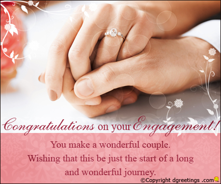 Congratulations On Your Engagement Quotes Image Engagement Greetings