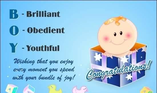 Cute Baby Boy Birthday Wishes – Boy Birthday Greetings