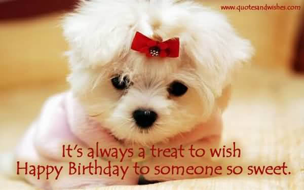 Cute Birthday Wishes Image To Someone Special