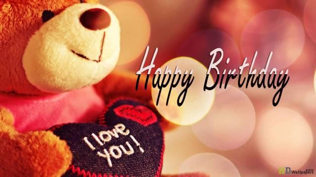 Cute Happy Birthday Wishes For Boyfriend Teddy Bear