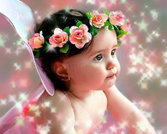 Cute Little Baby Angel Wallpaper