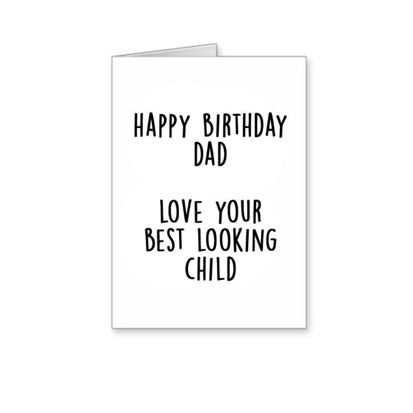Dad Birthday Greetings Card Image