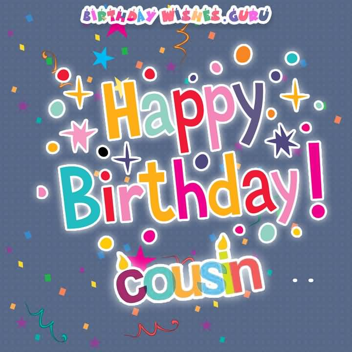 Dear Cousin Birthday Wishes Card