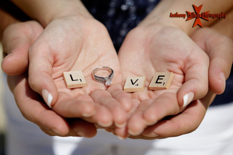 Engagement Ring In Hand Love Engagement Image