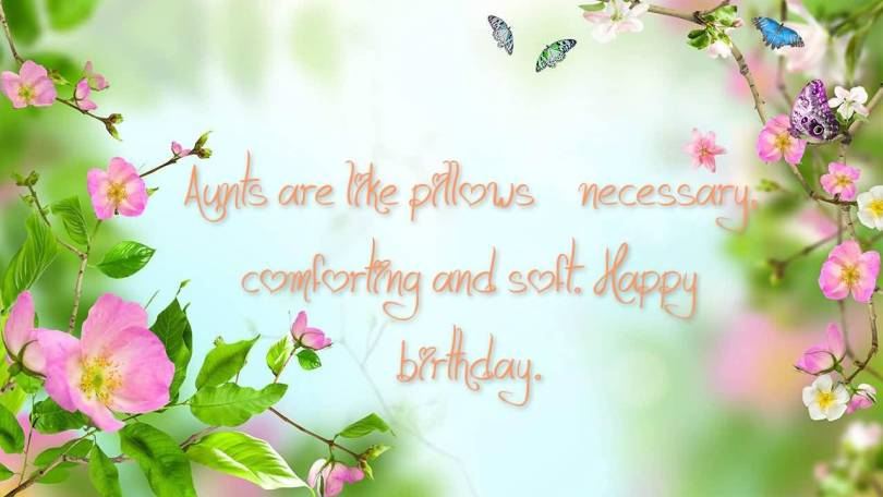 Fabulous Aunt Birthday Wishes E Card