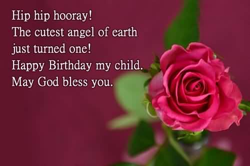 God Bless Birthday Wishes For Baby Boy