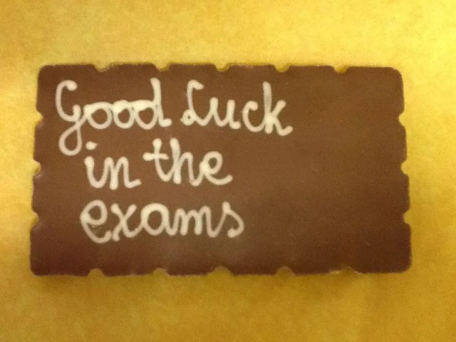 Good Luck In The Exams Image