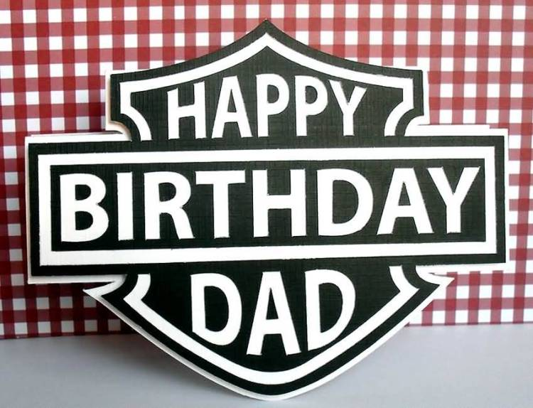 Happy Birthday Dad Greeting Image