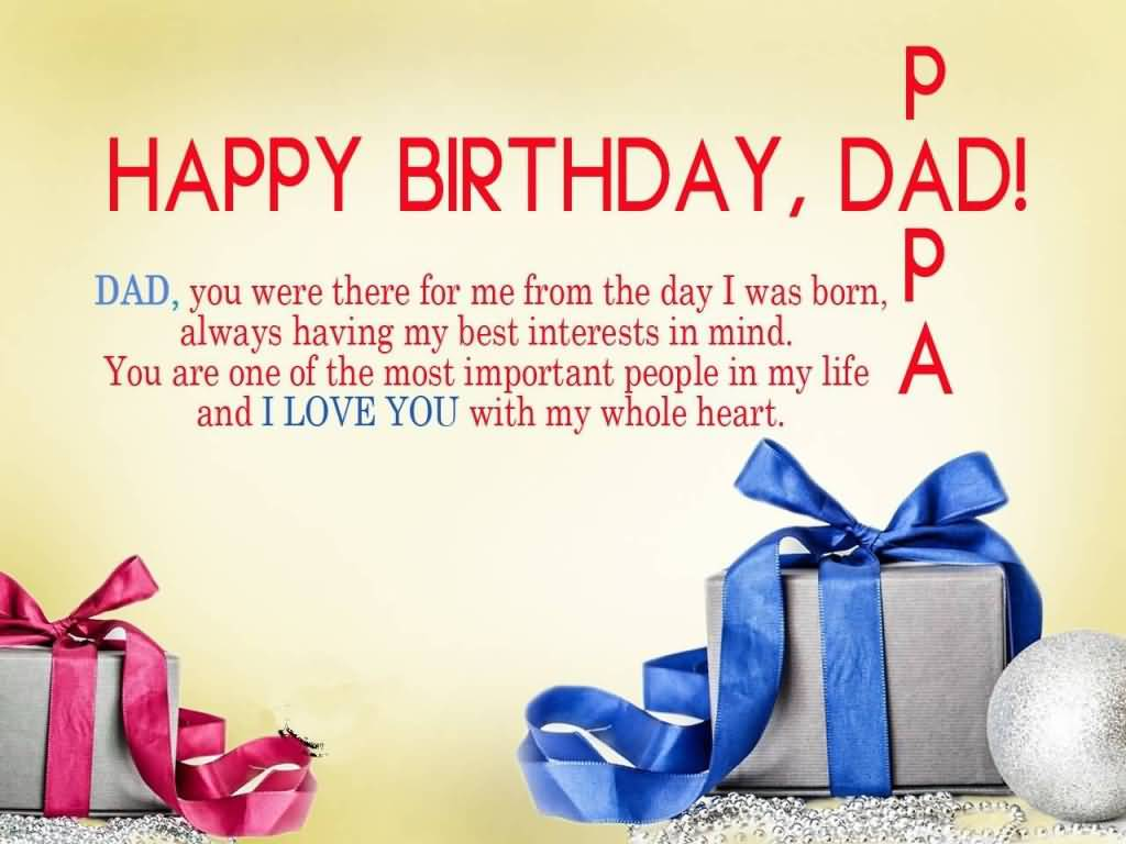 Birthday Wishes For Father Health ~ Most famous dad birthday wishes greeting for children