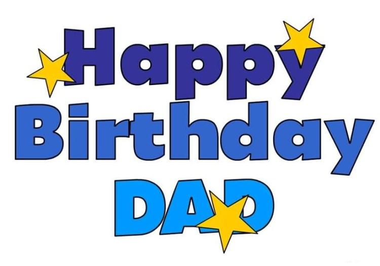 Happy Birthday Dad Wishes Image