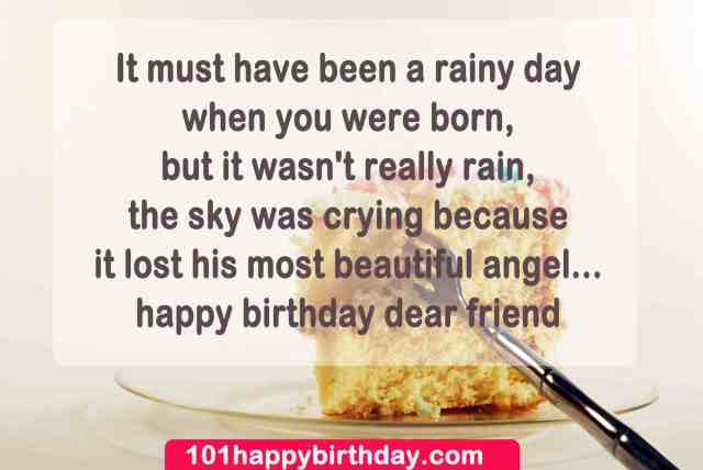 Happy Birthday Dear Friend Birthday Quotes Greeting Image