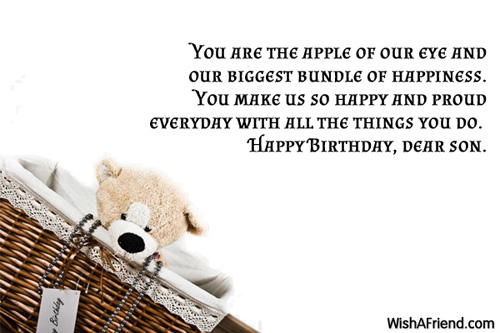 Happy Birthday Dear Son Birthday Quotes Picture