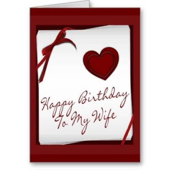Happy Birthday E-Card For Wife