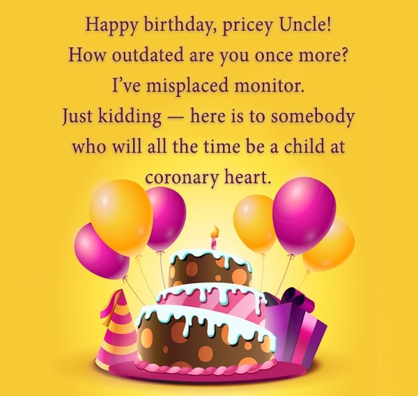 Happy Birthday Pricey Uncle Have A Great Birthday