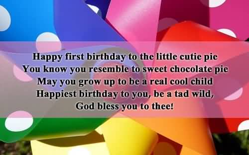 Happy Birthday Quotes For Baby Boy