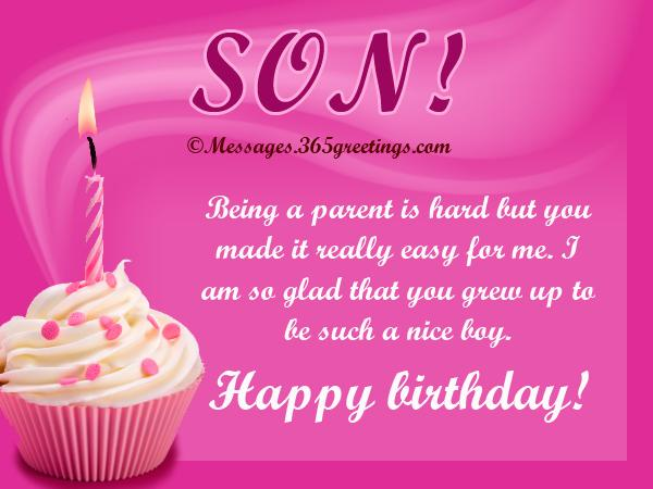 Happy Birthday Son Being A Parent Is Hard But You Made It Really Easy For Me