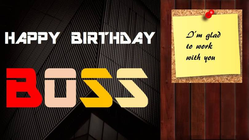 Happy Birthday Text For Boss