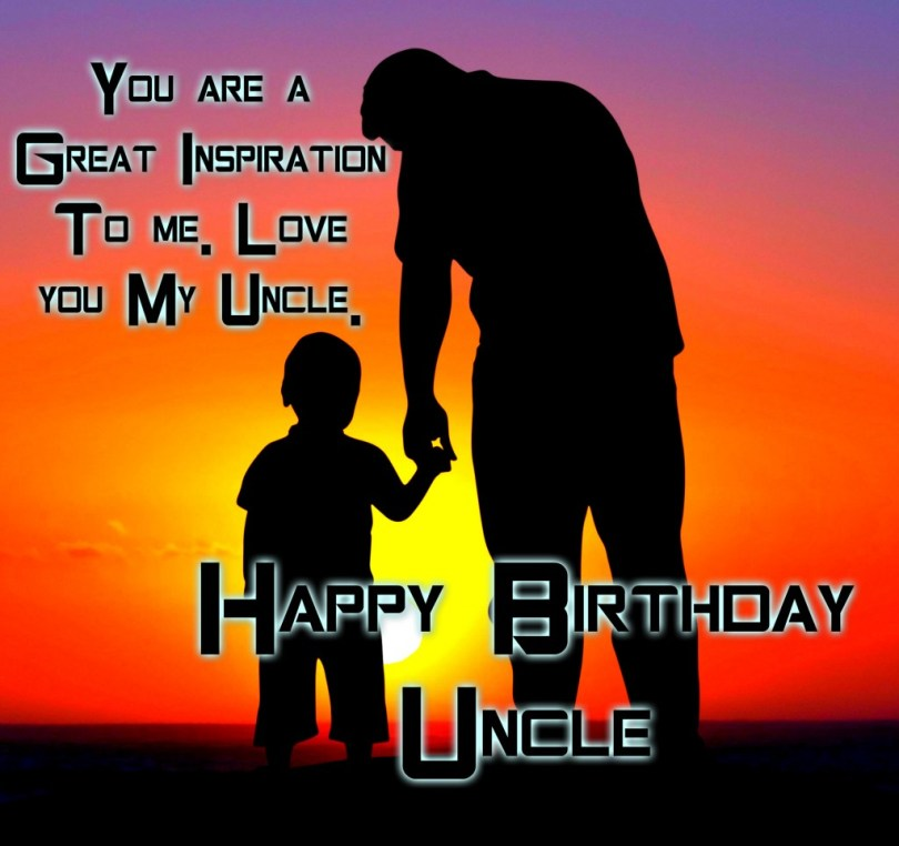 Happy Birthday Uncle Quotes Image