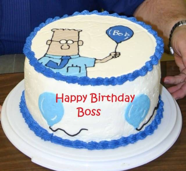 Happy Birthday Wishes Cake For Best Boss