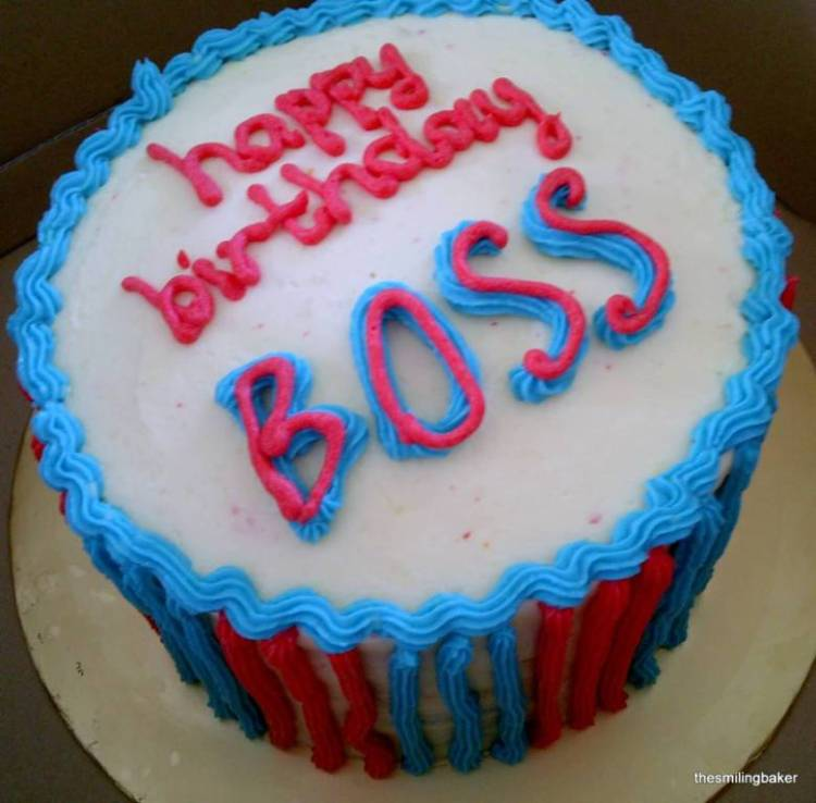 Have A Delicious Birthday Boss
