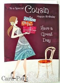 Have A Great Day Happy Birthday Wishes To Fabulous Cousin