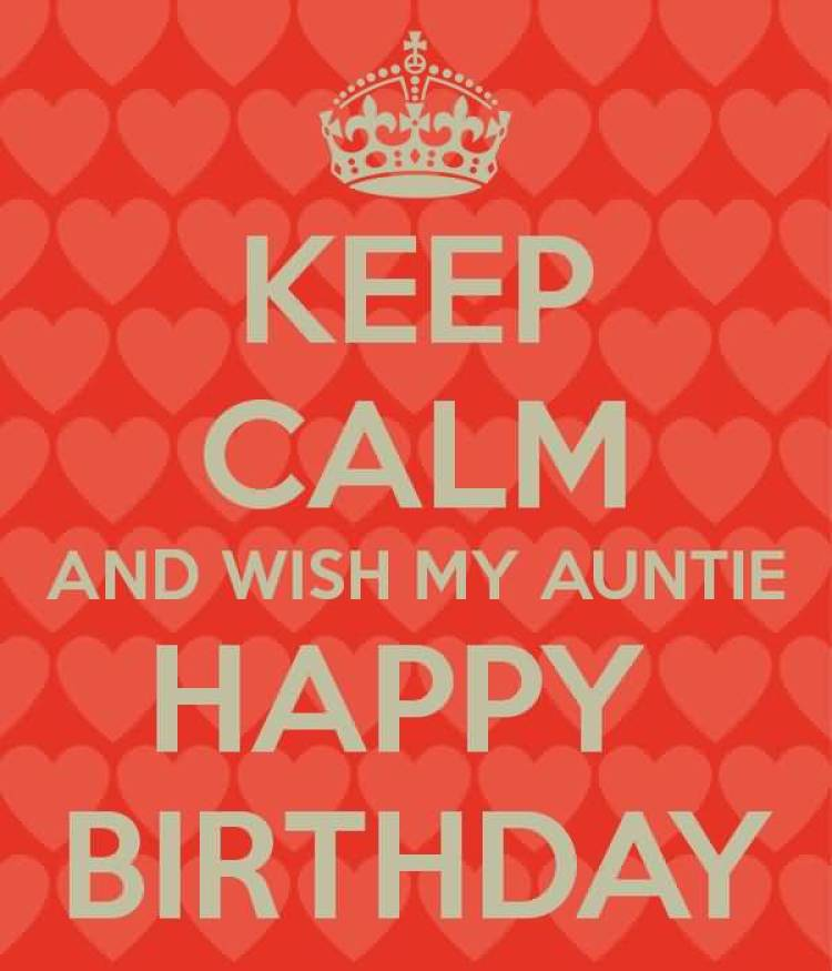 Have A Wonderful Day Happy Birthday Amazing Auntie