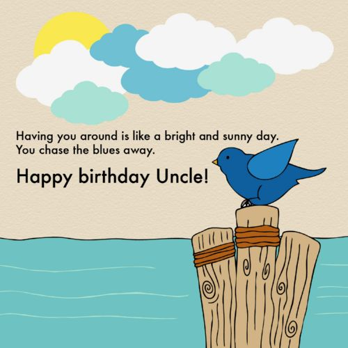 Here's To Hoping You Have A Perfect Birthday Happy Birthday Uncle