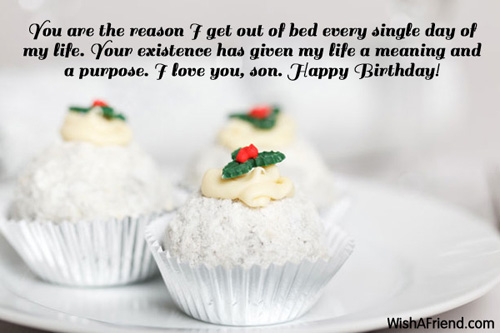 I Love You Son Happy Birthday Picture