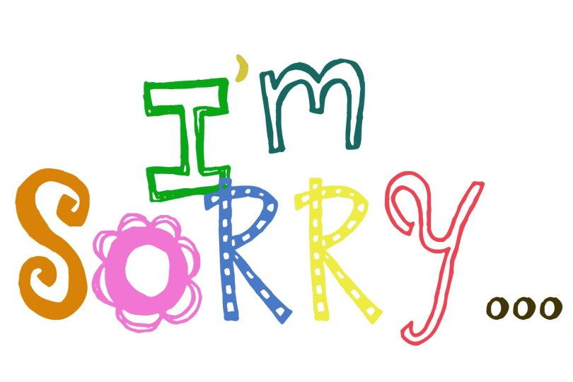 I'm Sorry Greeting Image