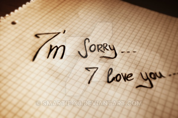 I'm Sorry I Love You Wallpaper