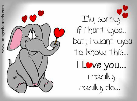 I'm Sorry If I Hurt You Message Image