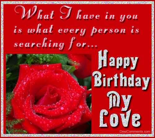 Love Birthday Greeting Image