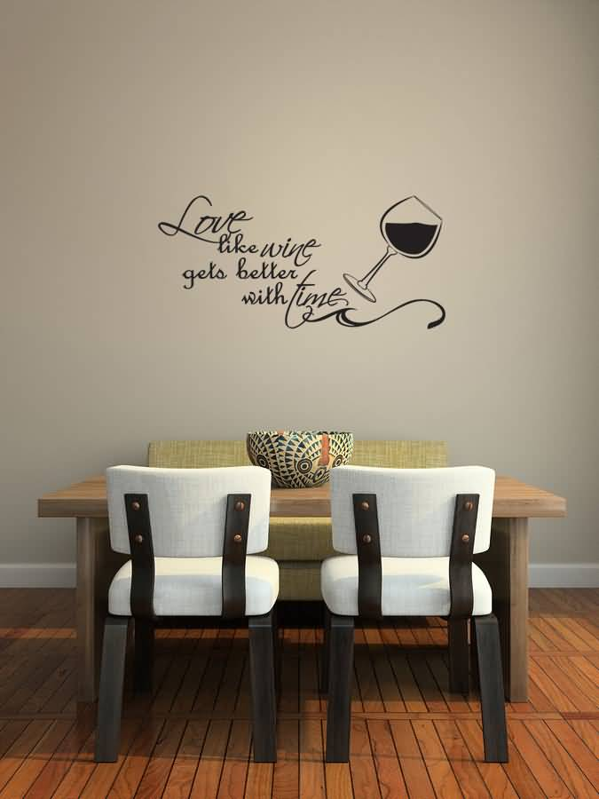 Love Like Wine Gets Better With Fine