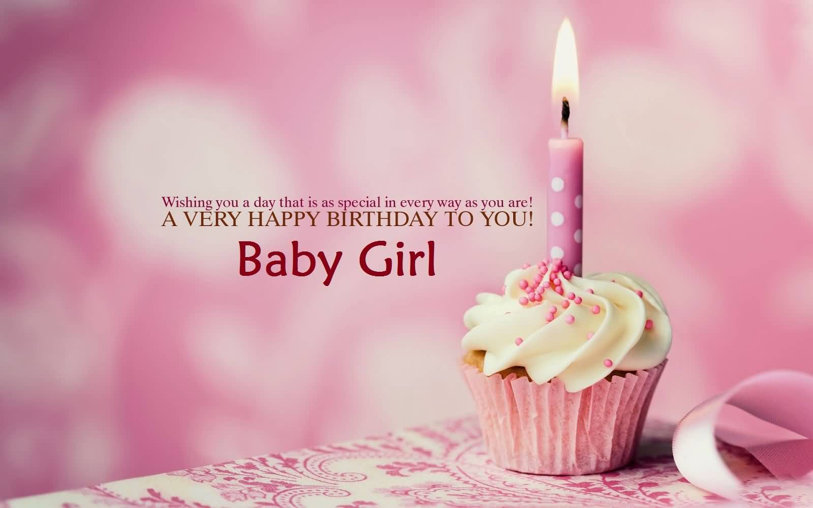 37 Sweet Baby Girl Birthday Greetings Cards, Wishes ...