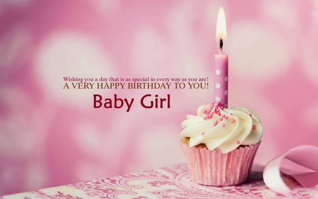 Many Many Happy Returns Of The Day Baby Girl