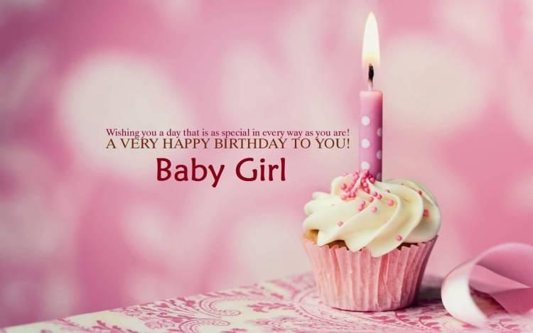 Many Many Happy Returns Of The Day Baby Girl