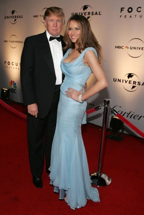 Melania Trump With Beautiful Dress Donald Trump's Wife Melania Trump
