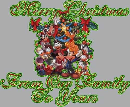 Merry Christmas Wishes Greetings Gif