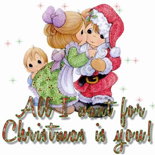 Merry Christmas Wishes To Friend Gif