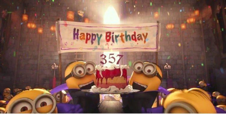 Minion Funny Happy Birthday Celebration Graphics