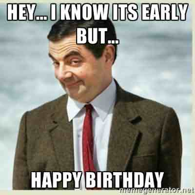 Mr.Bean Funny Happy Birthday Wishes