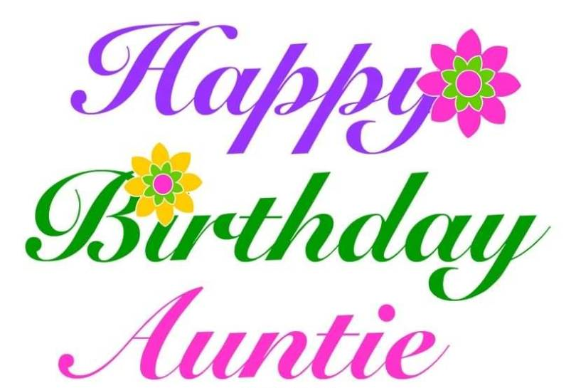 Perfect Birthday Message For Beautiful Aunt