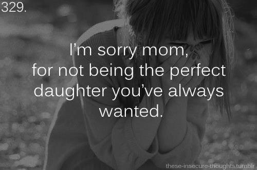 Quotes For I'm Sorry Mom Image