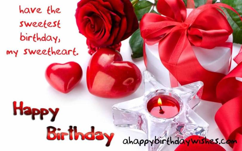 Romantic Happy Birthday Wishes For Boyfriend