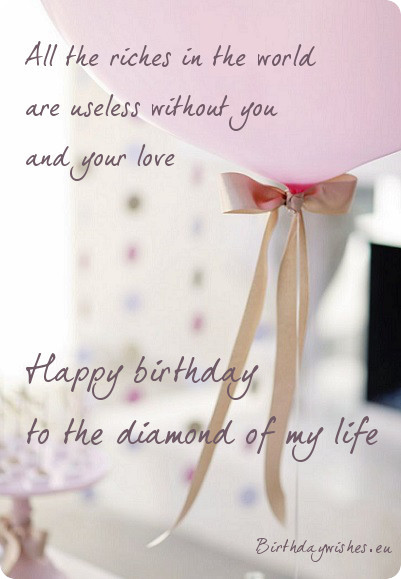 Special Birthday Greeting Card For Love