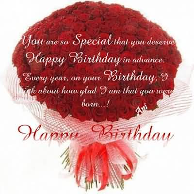 Special Birthday Wishes For Someone Very Special