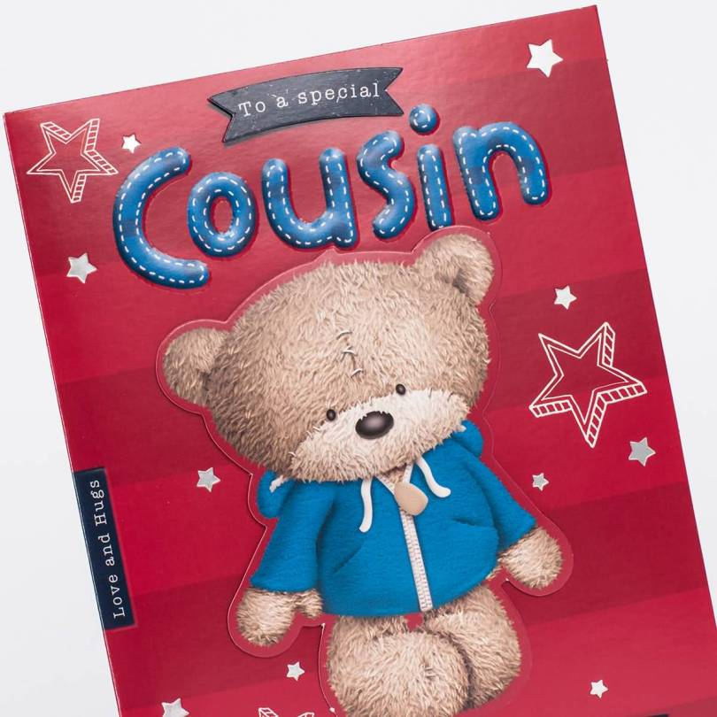 Special Greeting Card For Dear Cousin