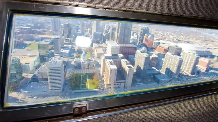 Superb Outside View From The Gateway Arch Photo